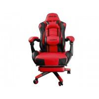Геймърски стол Raidmax Drakon DK709RD червен