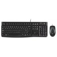 Клавиатура + мишка Logitech Desktop MK120
