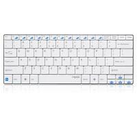 Клавиатурата RAPOO E6100 Блутут ултра тънка клавиатура, бяла