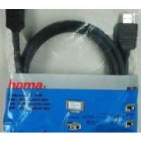 Кабел HDMI M - HDMI M 1.5m Hama 11955