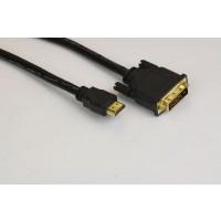 Кабел DVI 24+1 Dual Link M / HDMI M  1.5m