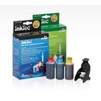 Бутилка мастило HP INKTEC-HP-4060-100B Black 100ml InkTec за CC640/CC641/No-300/901-D2560/D1660/D4560/D5560/C4680/F2480/F4580