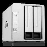 TerraMaster F2-210 NAS сървър 2-дисков
