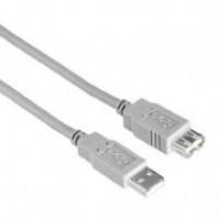 Кабел USB2.0 AM/AF 3,0м удължителен