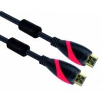 Кабел HDMI M/M Ultra HD 4k2k Gold v1.4 3D 3.0m