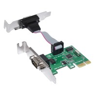 Конвертор PCI-express to 2 Serial port low profi