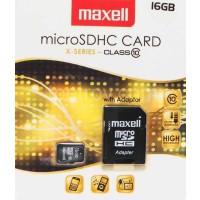 Флаш карта 16GB MAXELL MicroSD CLASS 10 с преходник