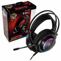 Геймърски слушалки с микрофон Roxpower T-ROX STGH707