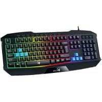 Клавиатура Genius К215 Gaming с подсветка Led