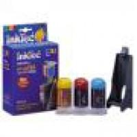 Рефил мастило цветно HP, HP-0002C за HP-78,HP-23,HP-17,HP-41, 3x 20ml.