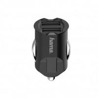 Зарядно за автомобил HAMA-200015 2 x USB-A 10.5W