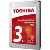 Твърд диск Toshiba P300 3TB 7200rpm 64MB HDWD130UZSVA