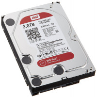 Твърд диск втора употреба WD Red 2TB SATAIII 64MB WD20EFRX за NAS
