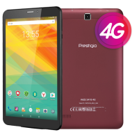 Prestigio Wize 3418 4G PMT3418 4 8'' IPS display 1GB DDR 8GB Android 6.0 Wine Red.