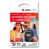 Флаш карта памет 64GB Agfaphoto V10 25MB/100MB