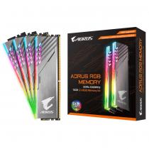 Памет Gigabyte AORUS RGB 16GB DDR4 (2x8GB) 3200MHz  CL16-18-18-38 1.35v