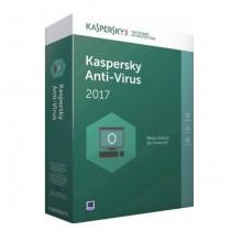 Програмен продукт с лицензен стикер Kaspersky AntiVirus 2018 - 1 лиценз 1година + 3 месеца подарък Box
