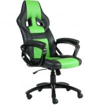 Геймърски стол INAZA LEGION черно-зелен