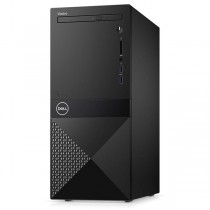 Настолен компютър Dell Vostro 3670 MT i3-8100 4GB 2400MHz DDR4 1TB HDD DVD+/-RW Intel UHD630 Keyboard&Mouse 3Y NBD