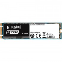 Твърд диск SSD Kingston A1000 480GB M.2 2280 NVMe PCIE read/write up to 1500/900MB/s