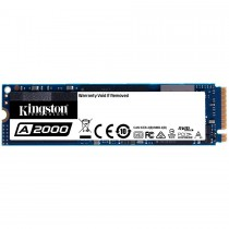Твърд диск SSD KINGSTON A2000 250G M.2 2280 NVMe read/write up to: 2 000/1 100MB/s