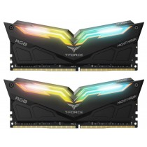 Памет Team Group T-Force NIGHT HAWK RGB 16GB(2x8GB) DDR4 3600MHz CL18-20-20-44 1.35V Черен