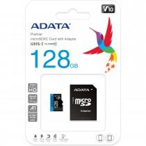 Флаш карта Adata microSDHC UHS-I 128GB Adata class10