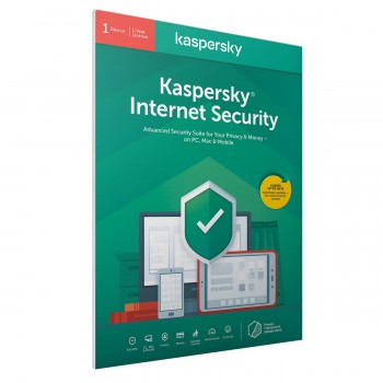Kaspersky Internet Security 2020 1 лиценз 1 година BOX