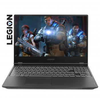 "Лаптоп Lenovo Legion Y540 15.6"" IPS 1080P Antiglare i7-9750H 8GB DDR4  256GB SSD m.2  GTX 1650 4GB PCIe Backlit KBD Black"