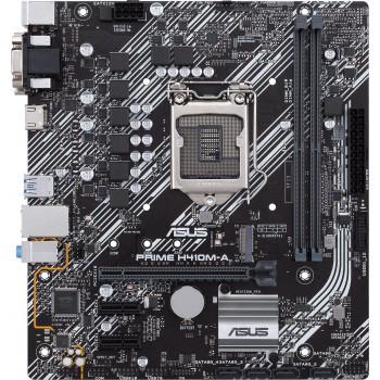 Дънна платка ASUS PRIME H410M-А s1200 2xDDR4 2xPCI-e М.2 VGA DVI HDMI