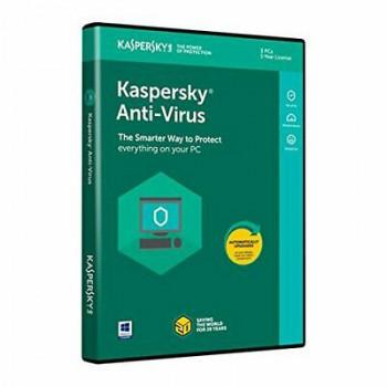 Kaspersky Anti-Virus 2020 3 лицензa 1година Box